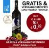 1 Flasche Wein gratis