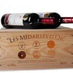Goldprämierte Bordeauxkiste