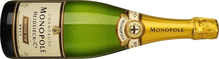 Heidsieck Monopole Bronze Top Champagner