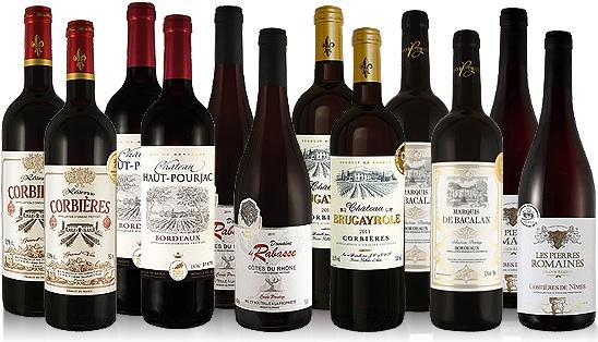 Frankreich Weinpaket