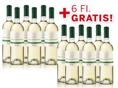 Viña Hortensia Rioja Blanco Viura 2015