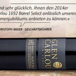 Glen Carlou 1692 Barrel Select 2014