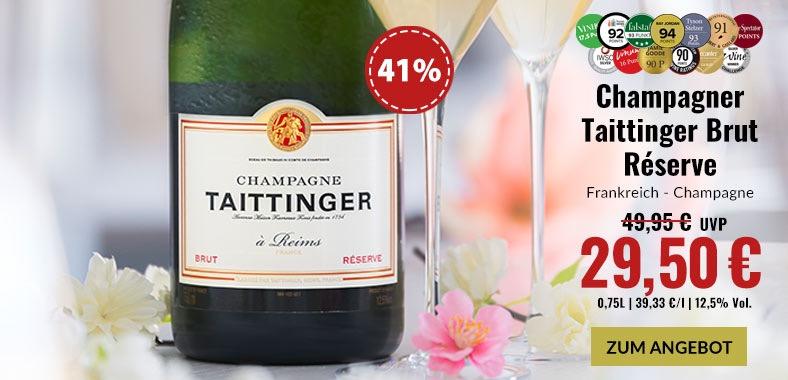 Taittinger Brut Réserve Champagner